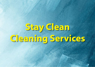 Stay Clean Cleaning Services